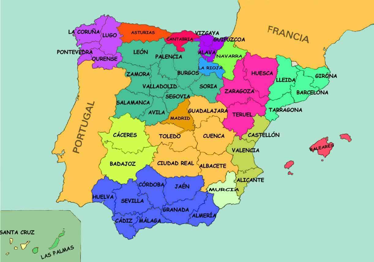 kart over alicante spania Spania stater kart   Kart over Spania usa (Sør Europa   Europa) kart over alicante spania